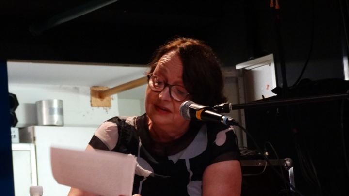Katja Lange-Müller liest aus ihren Texten. (c) Uwe Durst