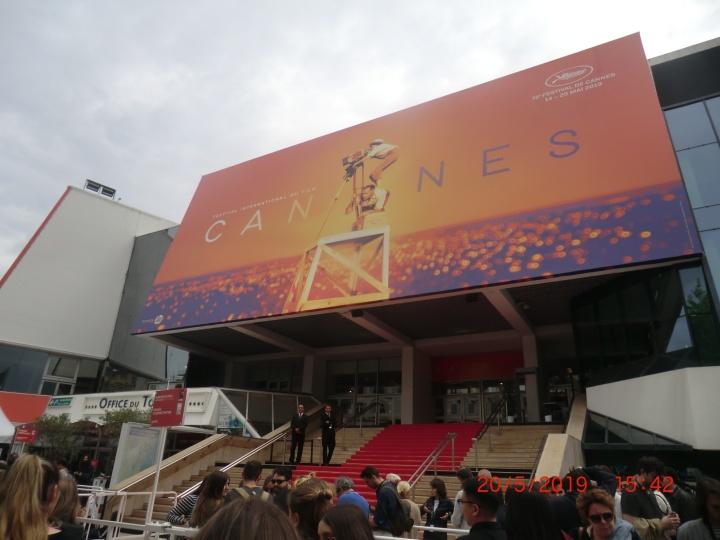 Der Filmpalast von Cannes (Foto: M. Blancher)