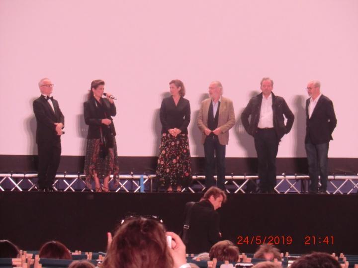 Ein Teil vom Cast von Les Patriotes (Foto: M. Blancher)