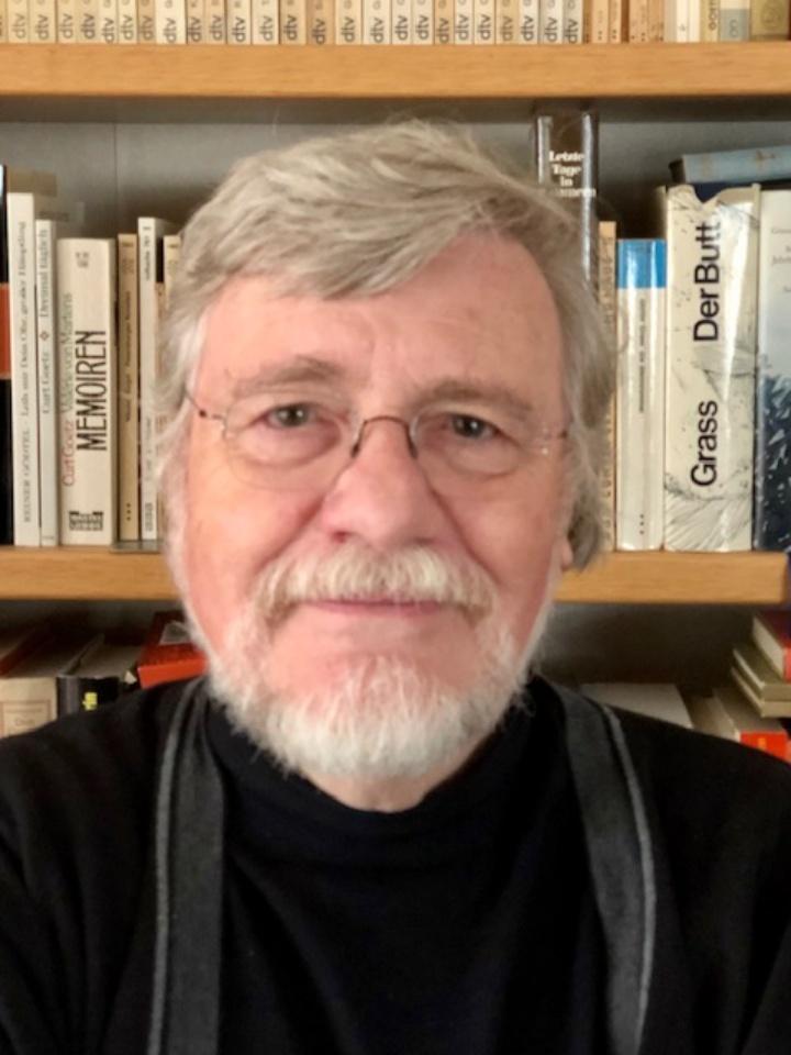 Herr Prof. Dr. Dietrich Grünewald (c) © Rüth Grünewald 2019 (abgebildet mir ihrer freundlichen Genehmigung)