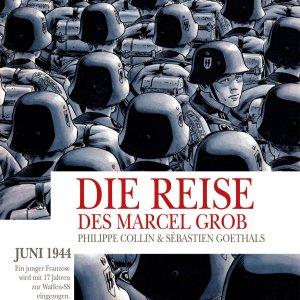 Cover der grafischen Novelle - Die Reise des Marcel Grob