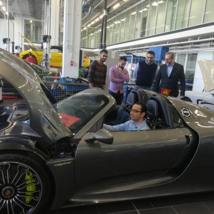 Porsche Ausbildungszentum1