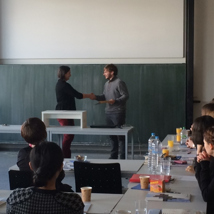 Preisträger 2014. Benjamin Krautter